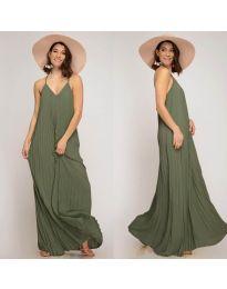 Šaty - kód 0508 - olivová  zelená