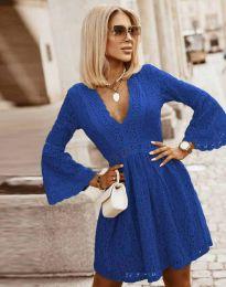 Šaty - kód 6239 - modrá