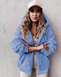 Kabát - kód 5489 - 4 - světle modrá
