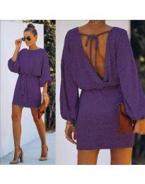 Šaty - kód 940 - fialová