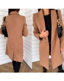 Kabát - kód 7709 - hněda