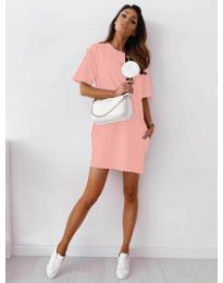 Šaty - kód 7236 - růžova
