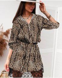 Šaty - kód 3635 - 8 - vícebarevné