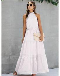 Šaty - kód 8855 - bílá