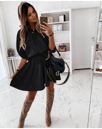 Šaty - kód 8586 - černá