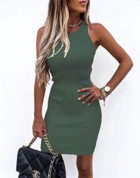 Šaty - kód 6331 - olivově zelená