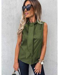 Košile - kód 5531 - olivová  zelená