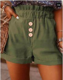 Krátké kalhoty - kód 9383 - zelená