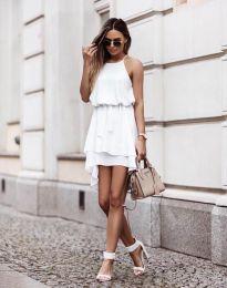 Šaty - kód 2104 - bílá