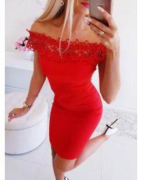 Šaty - kód 3105 - červená