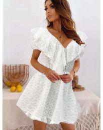 Šaty - kód 519 - bílá