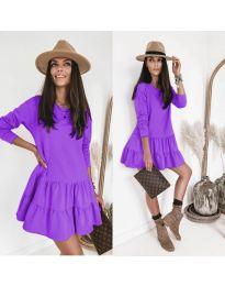 Šaty - kód 8486 - fialová