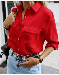 Košile - kód 6148 - červená