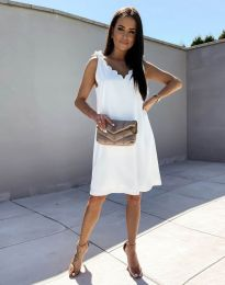 Šaty - kód 2504 - bílá