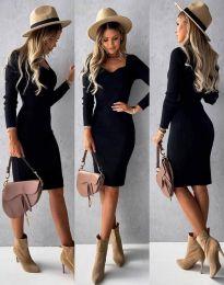 Šaty - kód 4845 - černá