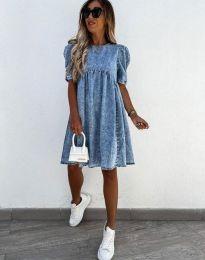 Šaty - kód 0617 - 1 - modrá
