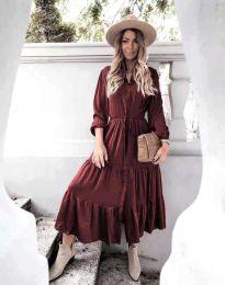 Šaty - kód 6522 - bordeaux