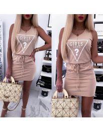 Šaty - kód 2233 - růžová