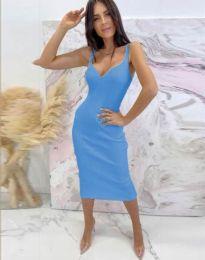 Šaty - kód 10033 - modrý
