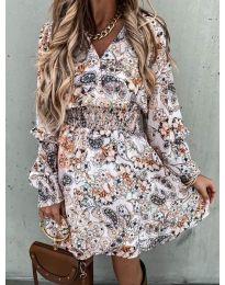 Šaty - kód 7712 - 1 - vícebarevné