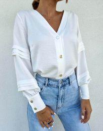 Košile - kód 7492 - bíla