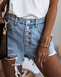 Krátké kalhoty - kód 4308 - 1 - světle modrá