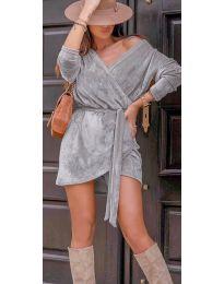 Šaty - kód 238 - šedá