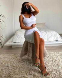 Šaty - kód 10122 - bíla