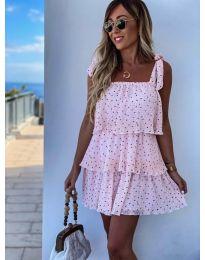 Šaty - kód 6140 - růžova