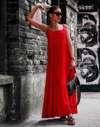 Šaty - kód 2301 - 5 - červená