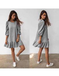 Šaty - kód 784 - šedá