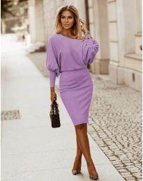 Šaty - kód 2242 - světle fialová