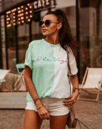Tričko - kód 0563 - 2 - barevné
