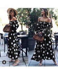 Šaty - kód 9951 - černá