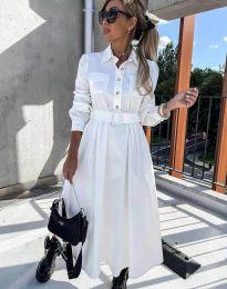 Šaty - kód 1467 - bíla