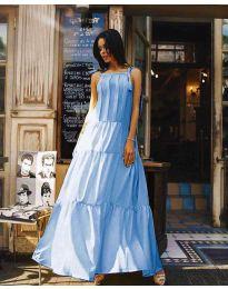 Šaty - kód 1105 - modrý
