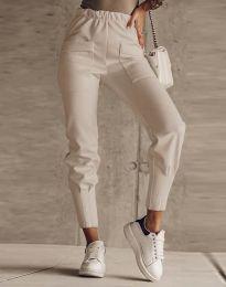 Kalhoty - kód 2252 - bežová