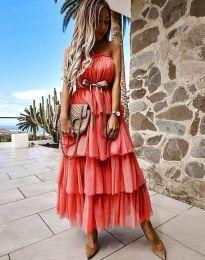 Šaty - kód 1543 - červená