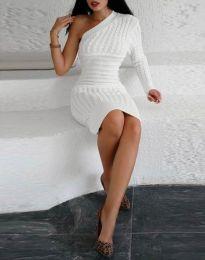 Šaty - kód 2588 - bílá