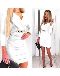 Šaty - kód 8999 - bíla