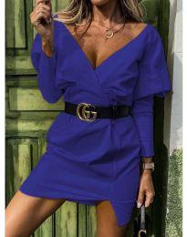 Šaty - kód 1617 - modrý