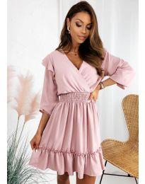 Šaty - kód 8554 - růžova