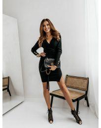 Šaty - kód 9510 - 1 - černá