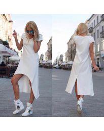 Šaty - kód 336 - bílá
