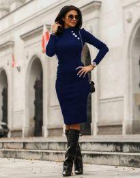 Šaty - kód 7099 - 6 - modrá