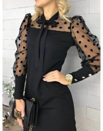 Šaty - kód 1081 - černá