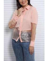Košile - kód 0638 -  3 - růžová