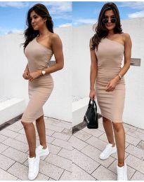 Šaty - kód 0208 - bežová