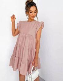 Šaty - kód 2666 - pudrová