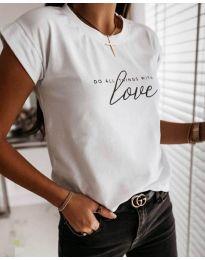 Tričko - kód 3660 - bíla